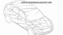 2014 Maserati Levante patent drawing