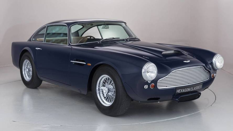 Aston Martin DB4 pre serie