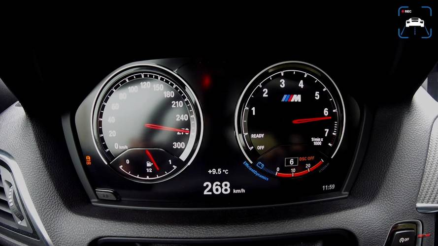 Videón, ahogy mindent kifacsarnak a frissített BMW M2-ből