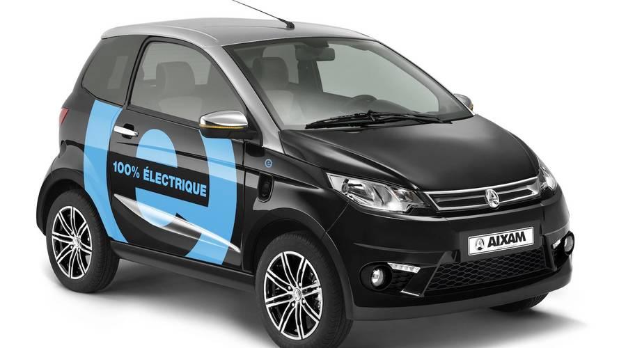 Aixam introduce en España sus primeros modelos 100% eléctricos