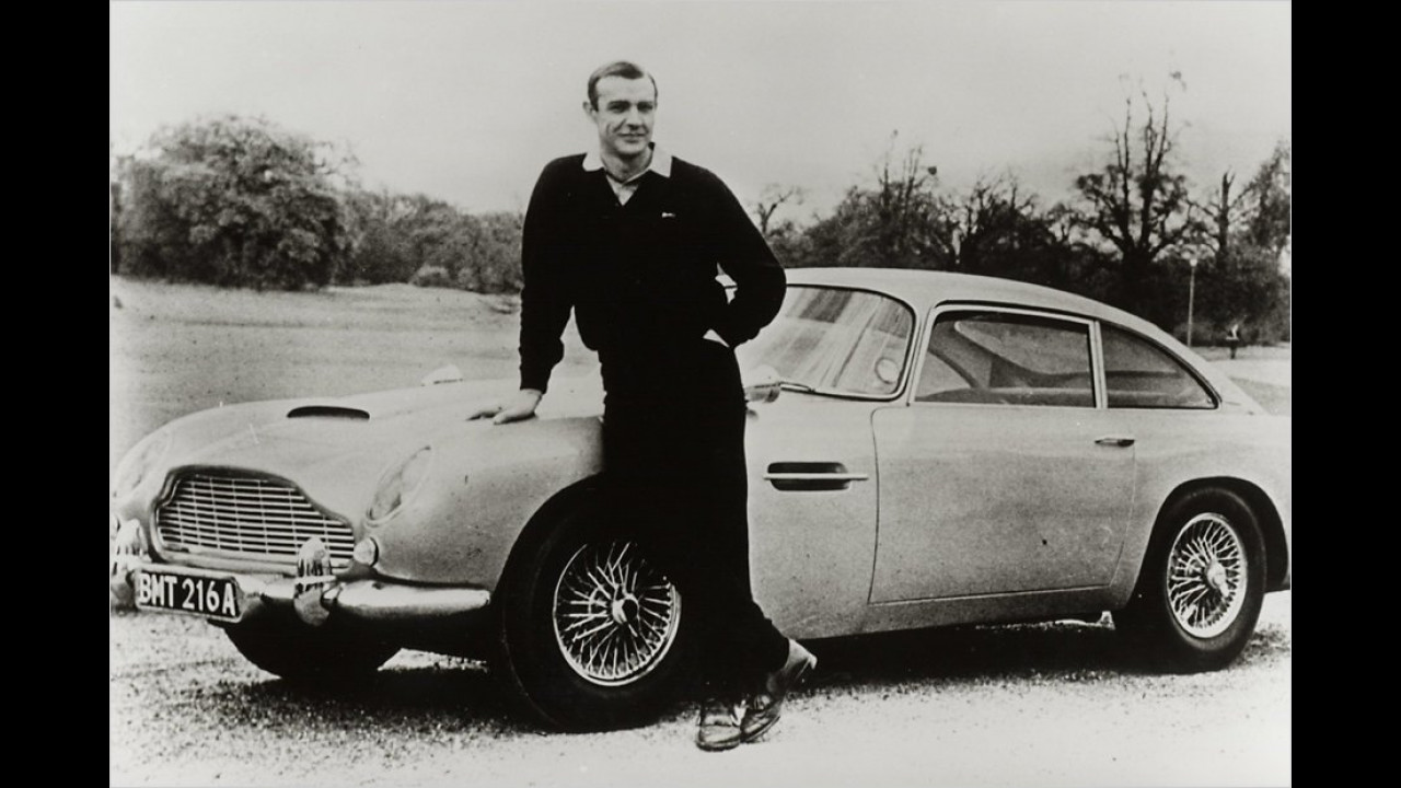 Sean Connery: Aston Martin DB5