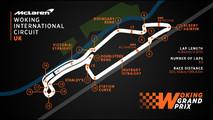 Woking International Circuit track map