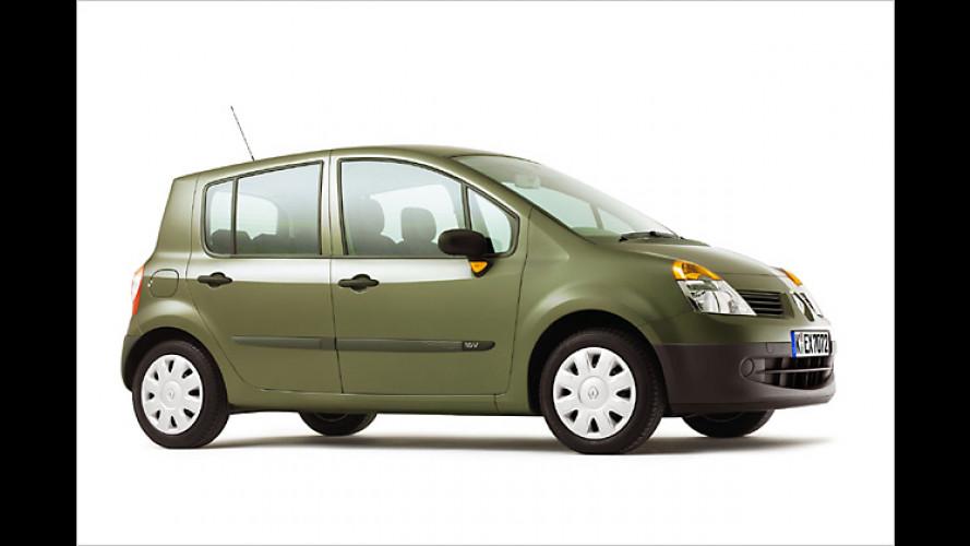 Renault Modus durch neuen Basismotor noch mal günstiger