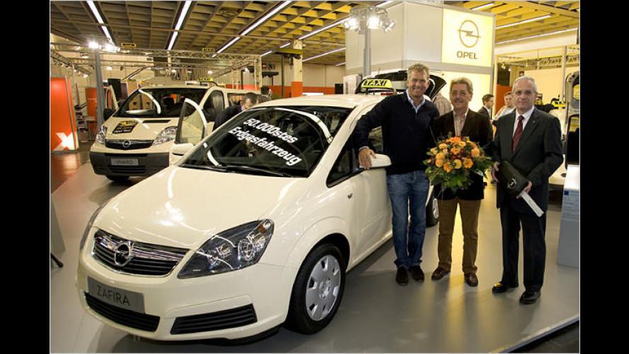 Aus der Erde in den Tank: Opel-Jubiläums-Erdgasfahrzeug