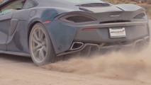 2017 McLaren 570GT Back Road Review