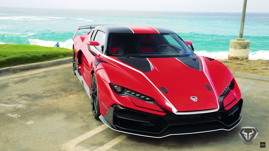 Italdesign Zerouno Draws Crowds During Beverly Hills Stroll