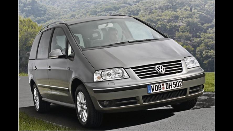 Volkswagen: Sharan gibt es jetzt als BlueMotion-Version