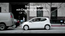 Volkswagen mostra funcionamento do sistema City de frenagem automática do up!