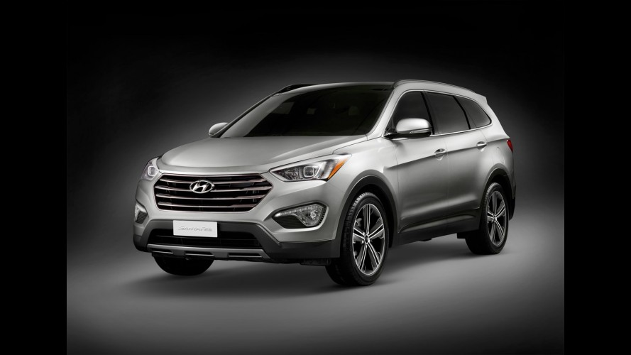 Hyundai confirma chegada do Grand Santa Fe ao mercado europeu