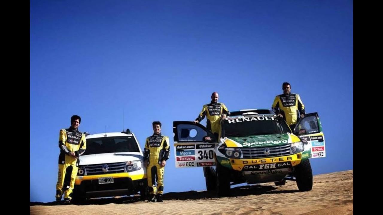 Renault mostra Duster preparado para o Rally Dakar, com motor de 306 cv!