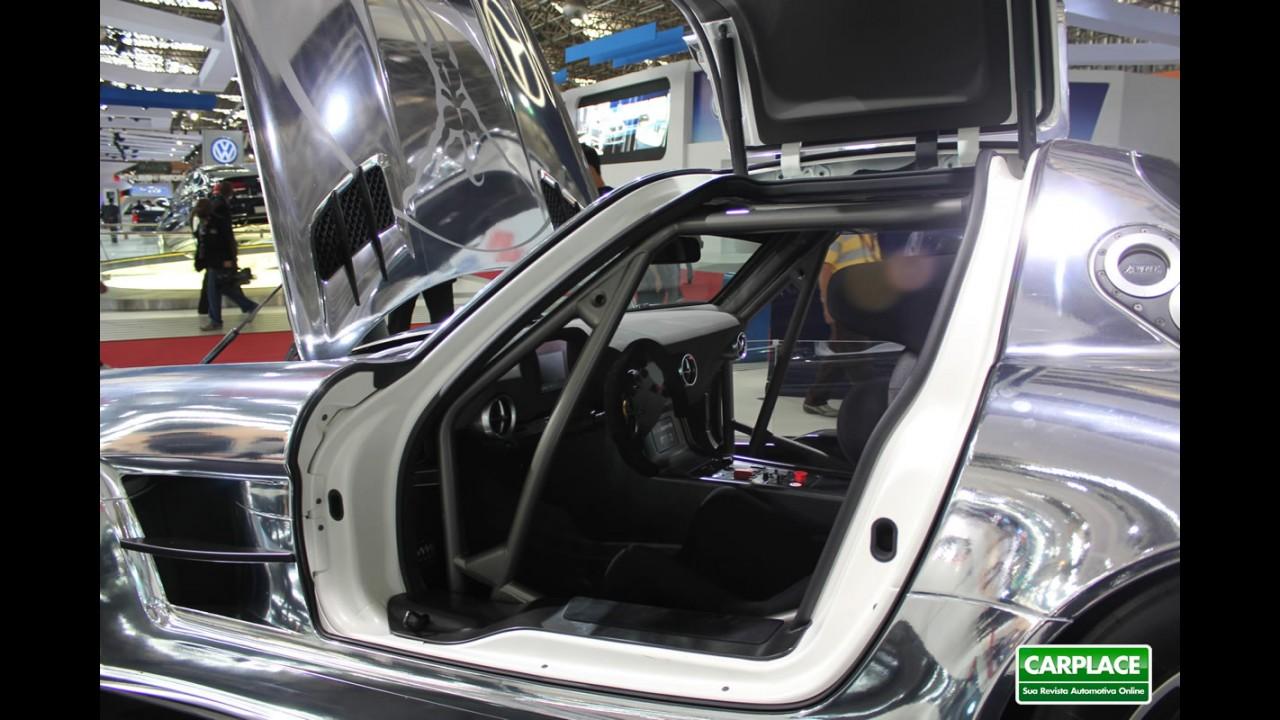Mercedes SLS atinge marca de 100 unidades encomendadas no Brasil