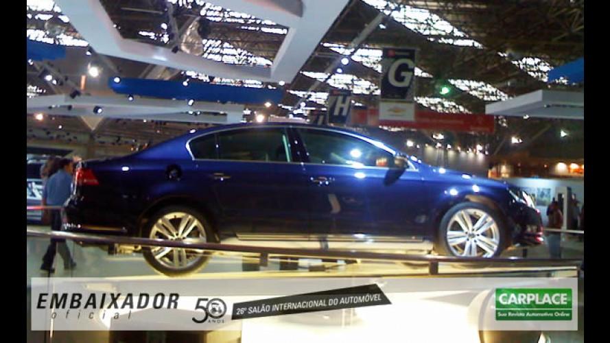 Surpresa! Volkswagen mostra o Novo Passat 2011 no Salão do Automóvel
