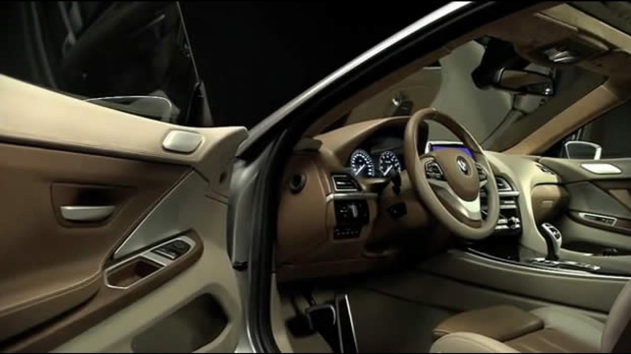 Vídeos mostram o BMW Série 6 Coupé Concept por todos os ângulos
