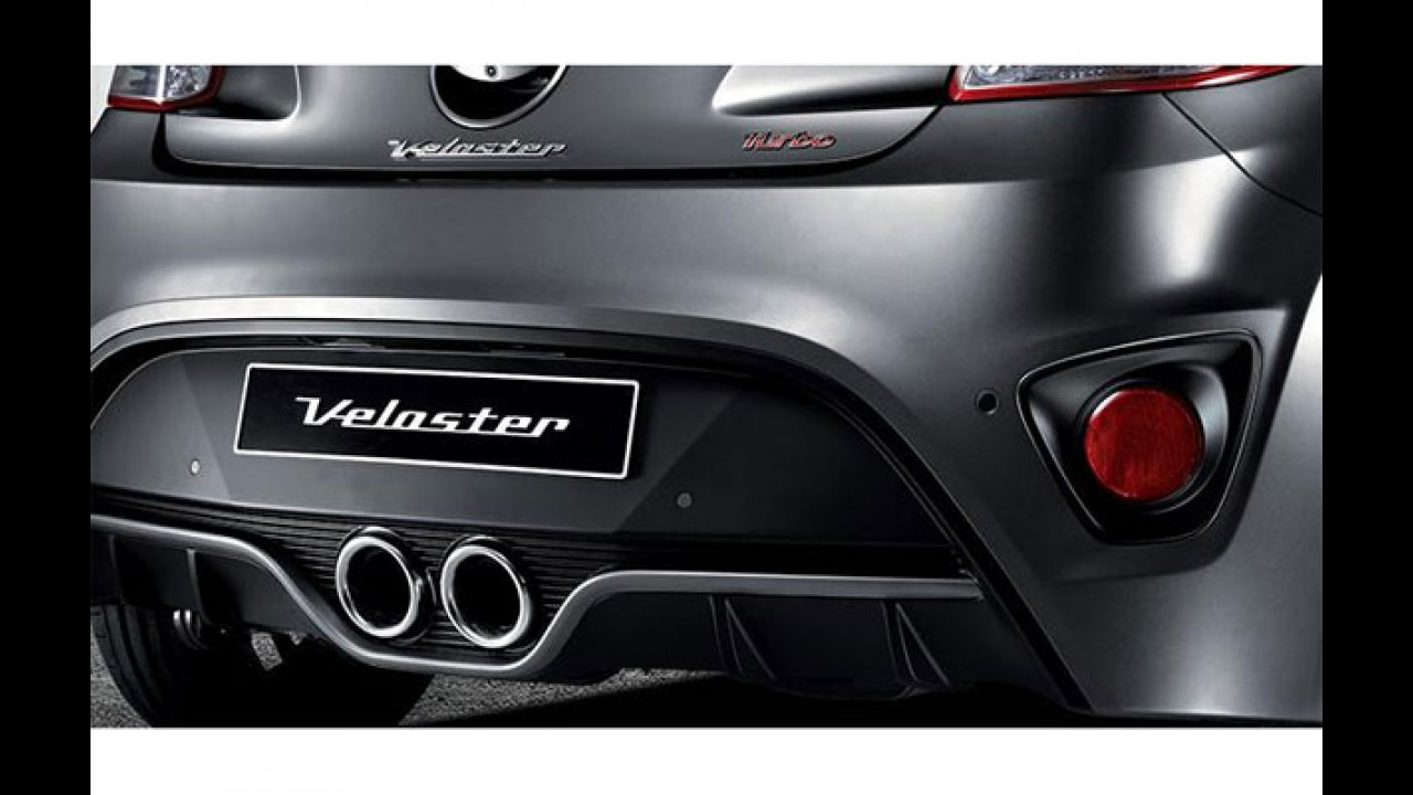 Veloster Turbo reestilizado estreia câmbio de dupla embreagem