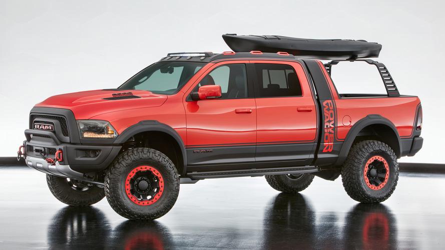 Dodge Shakedown Challenger, Durango Shaker, Ram Macho Power Wagon head to SEMA