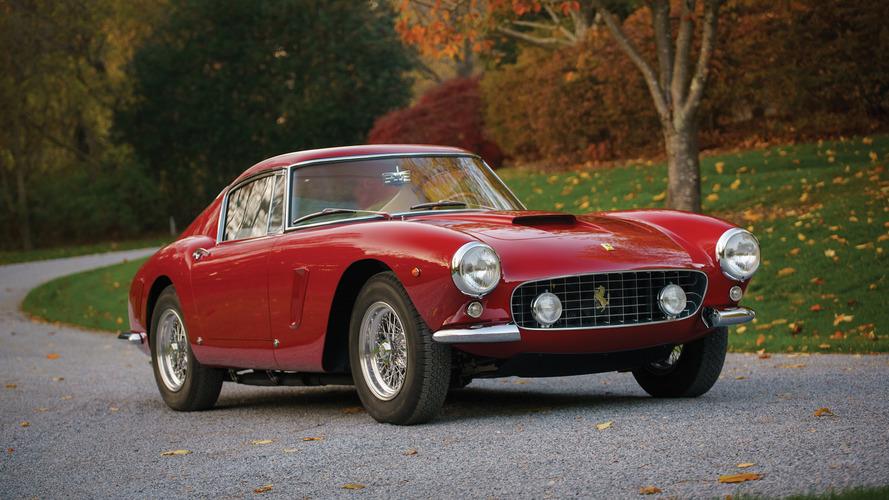Ferrari 250 GT SWB açık arttırmada 9.5 milyon doları bulabilir