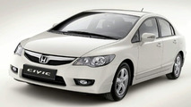 2009 Honda Civic Hybrid facelift European spec