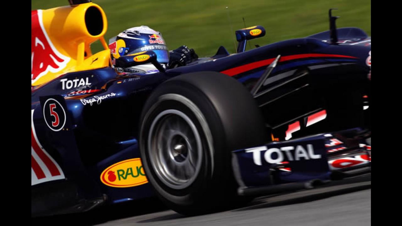 Fórmula 1: RBR domina e faz dobradinha na Espanha - Felipe Massa larga em 9°