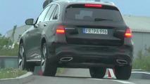 Mercedes-Benz GLC screenshot from spy video