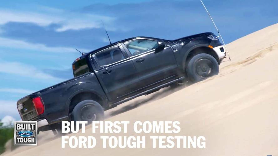 See How Ford Is Testing The 2019 Ranger To Ensure Its Toughness