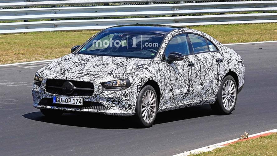 Next-Gen Mercedes CLA Prototypes Caught In Different Trim Levels