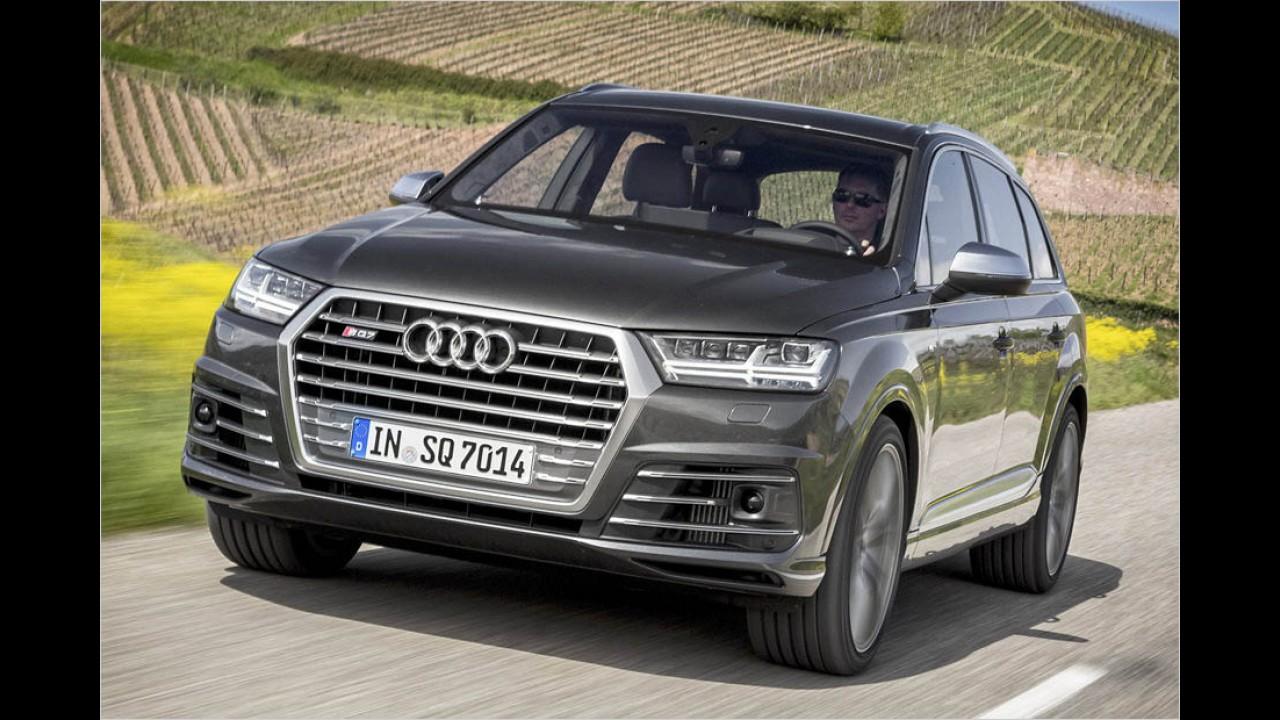 435 PS: Audi SQ7 TDI