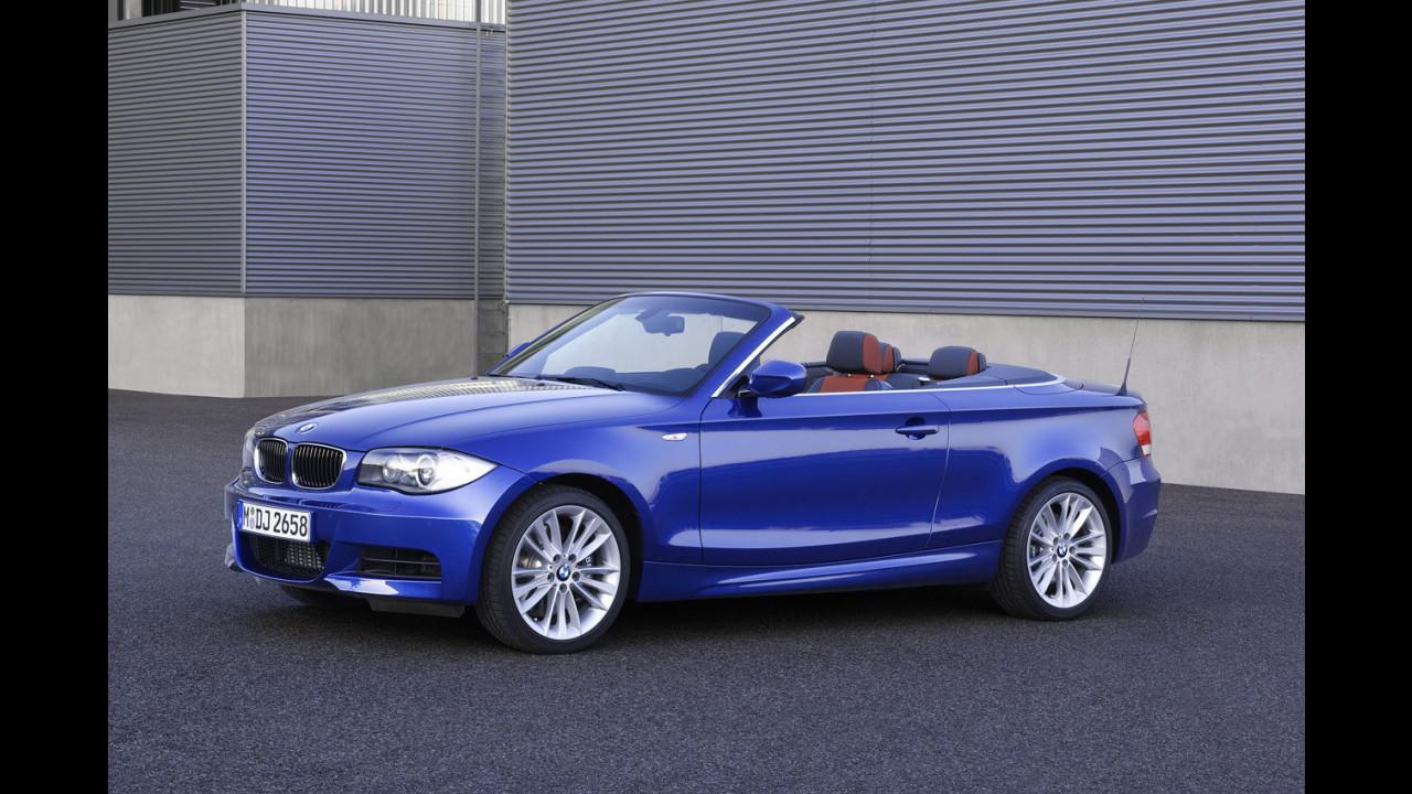 Nuove BMW 135i coupe e cabrio