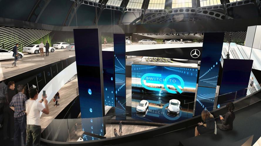 Mercedes à Francfort avec l'AMG Project One et un concept EQ