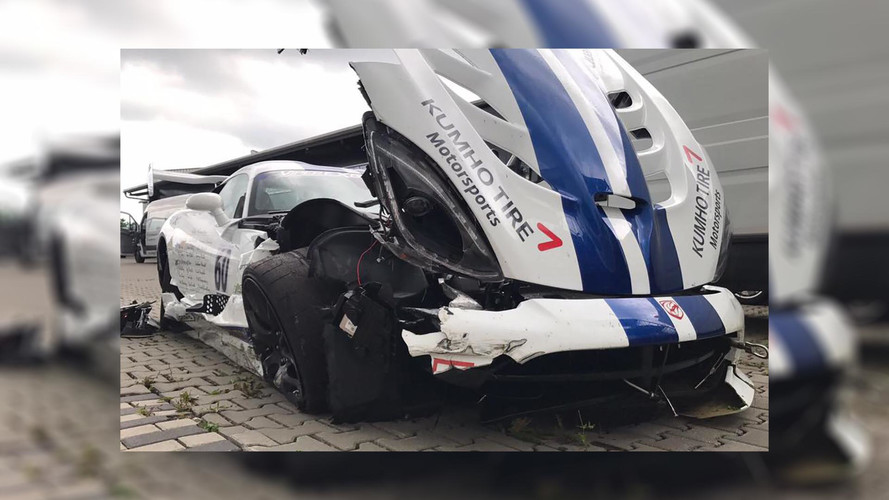 Dodge Viper ACR: Nincs hét perc alatti köridő, ráadásul az autó is összetört