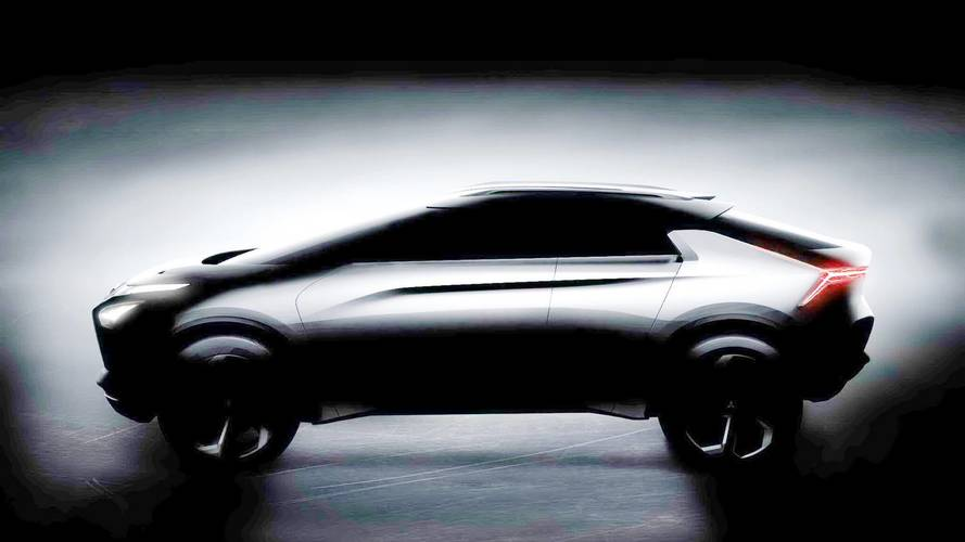 Mitsubishi e-Evolution concept teaser (modified)