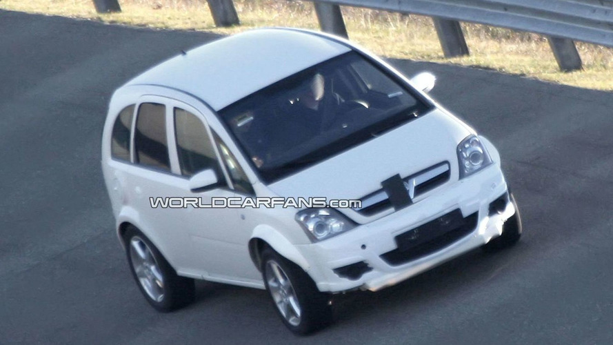 2012 Opel Corsa Compact SUV Spy Photos
