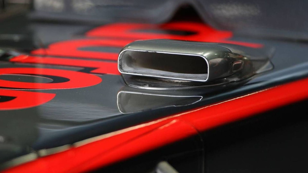 McLaren Mercedes, MP4-25, air intake, Bahrain Grand Prix, 13.03.2010 Sakhir, Bahrain