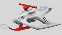 Mercedes Monochrome Gift - Bobby-Bob snow sled