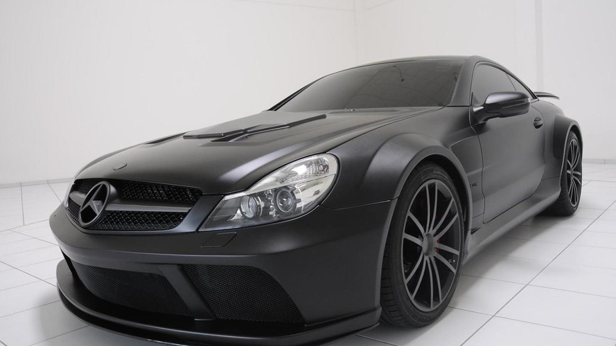 Brabus SL 65 AMG Black Series Pumps 800hp