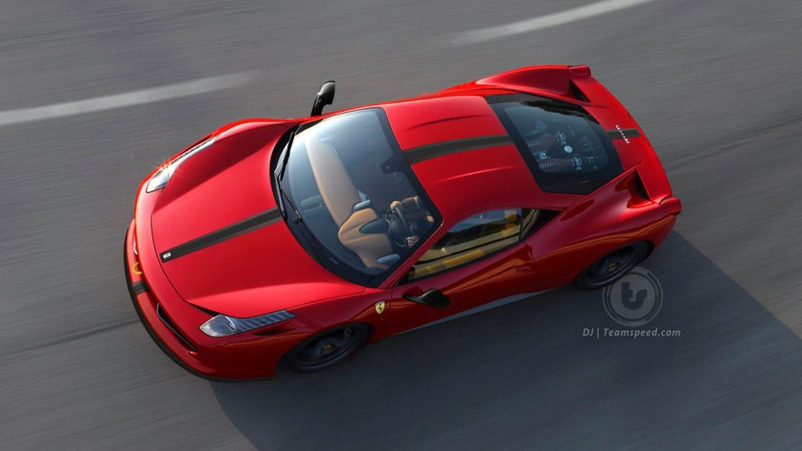 Rendered Speculation: Ferrari 458 Italia Scuderia