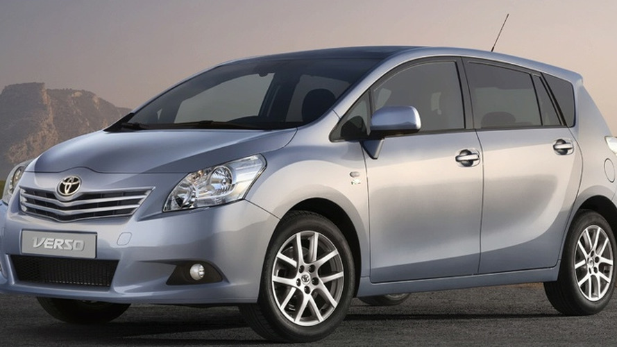 All New 2009 Toyota Verso First Photos
