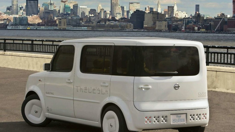 Leaked: 2009 Nissan Denki Cube Concept at NYIAS