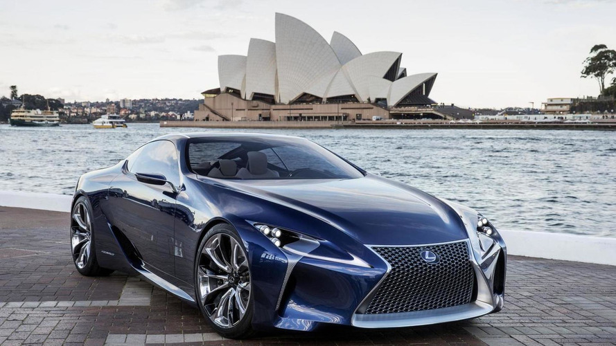 Lexus execs pushing for a new halo model - report