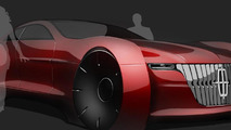 2025 Lincoln Continental speculatively rendered
