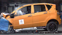 Mercedes A-Class crash test