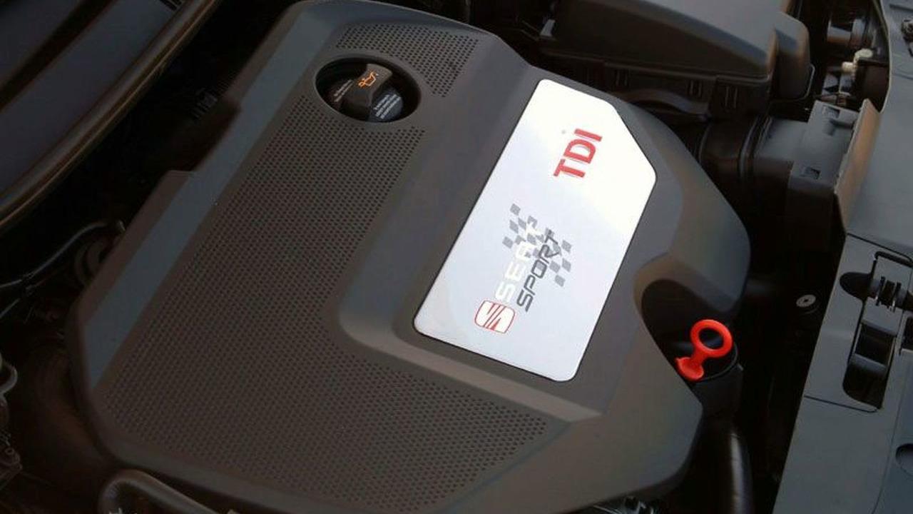 SEAT Ibiza Cupra 160 hp 1.9 TDI engine