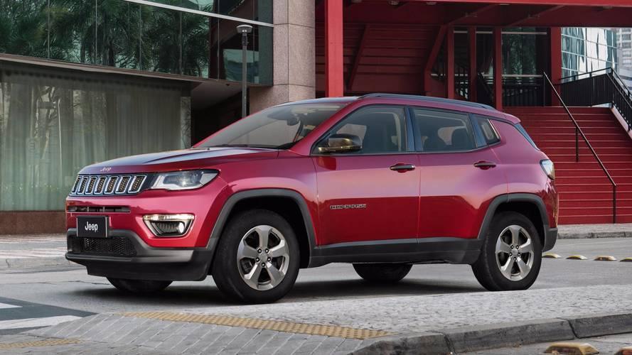 Veja a lista dos SUVs mais vendidos em janeiro - Compass e SW4 lideram