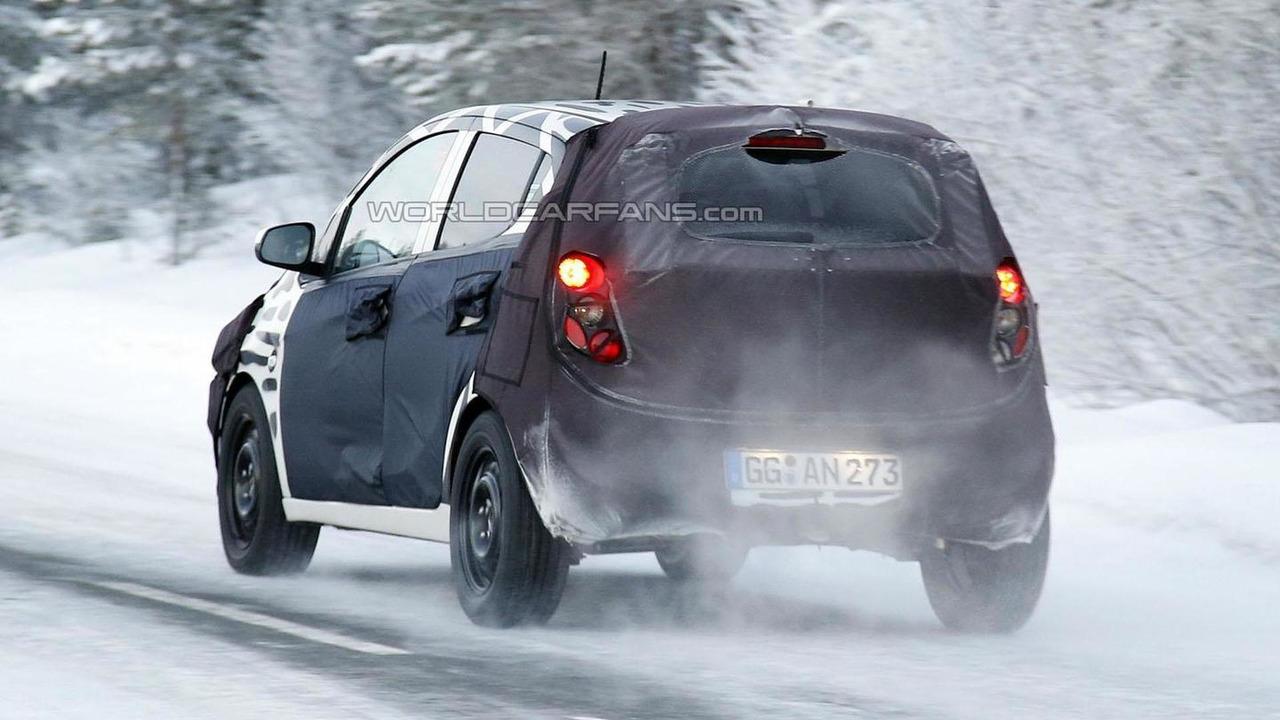 2015 Chevrolet Spark spy photo