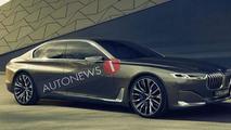 BMW Vision Future Luxury Concept leaks