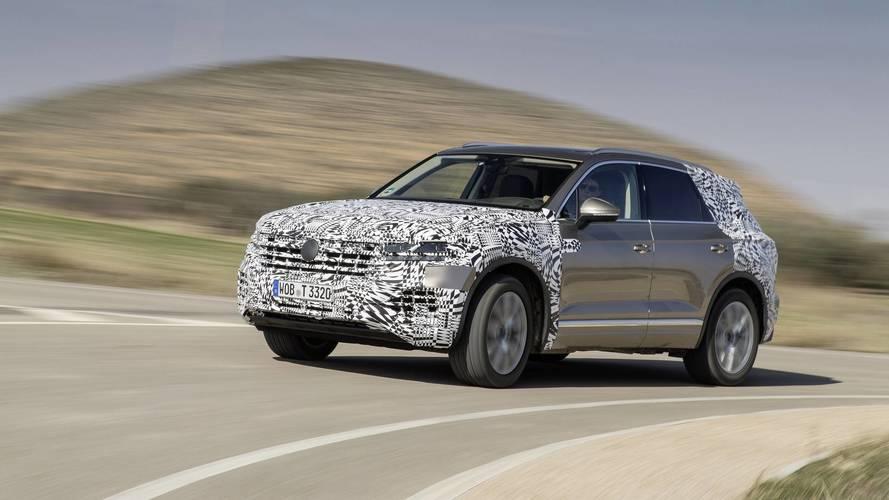 Teaser Volkswagen Touareg 2018