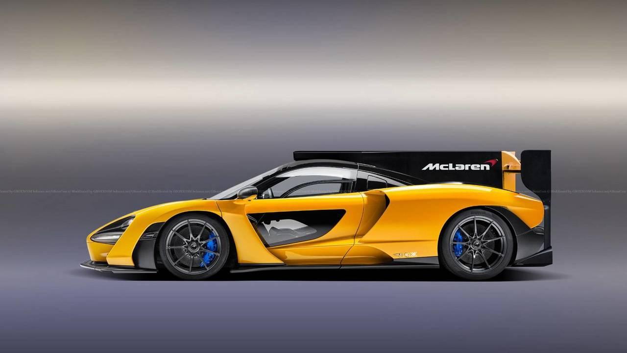 Mclaren For Sale >> McLaren Senna Speedster, LMP race car renders | Motor1.com Photos