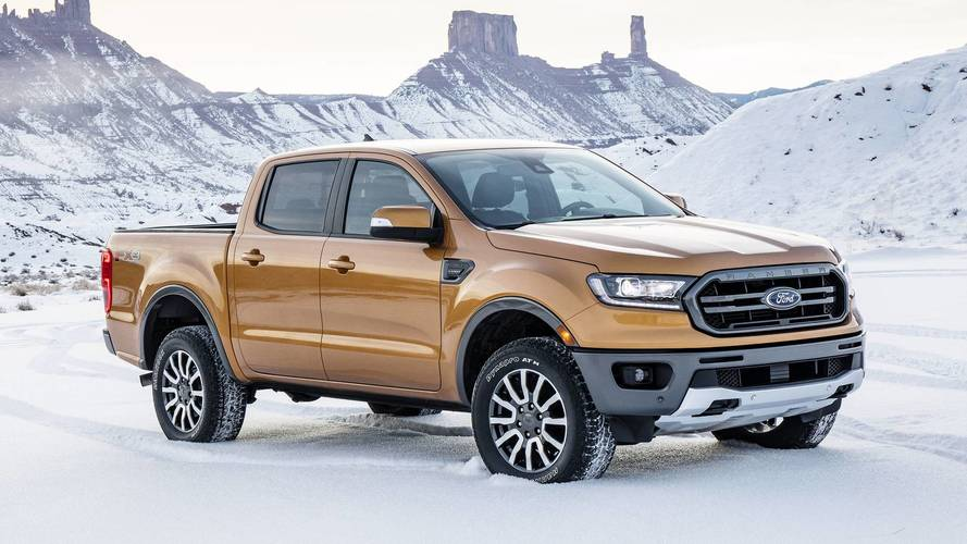2019 Ford Ranger Wildtrak Spied Testing In The U.S.
