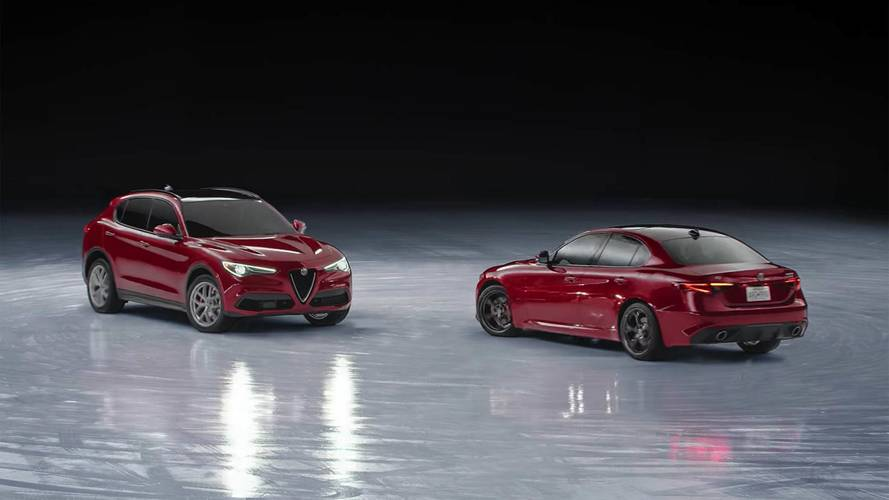 Les Alfa Romeo Giulia et Stelvio s'offrent un ballet sur glace