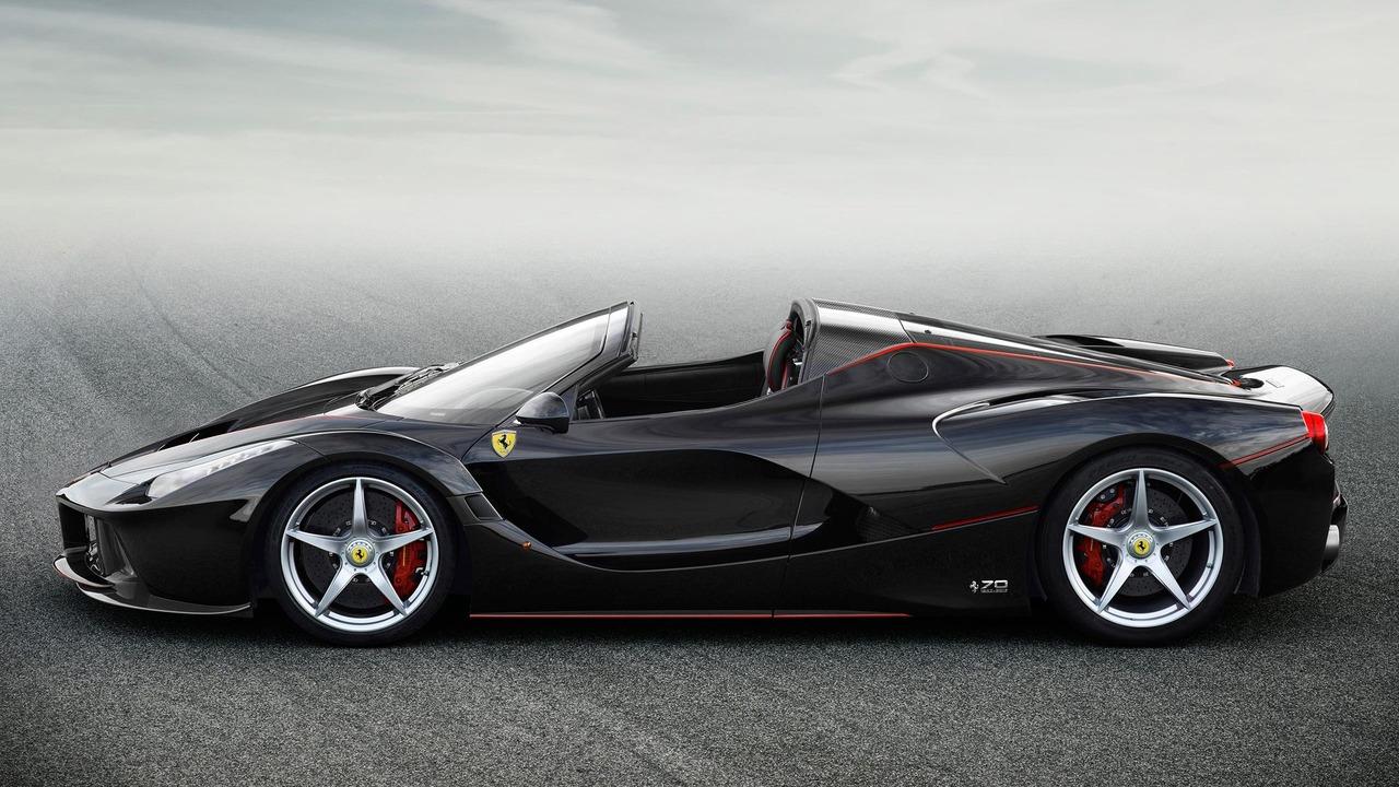 Ferrari LaFerrari Aperta profile