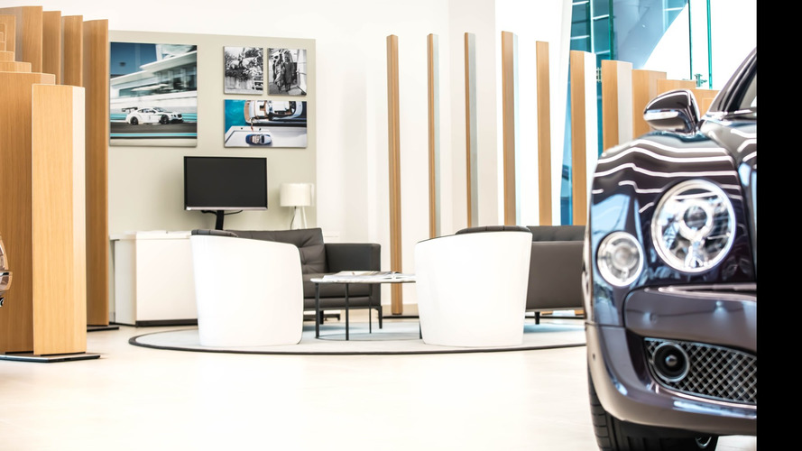 Bentley's flagship Dubai showroom is a monument to bourgeoise taste
